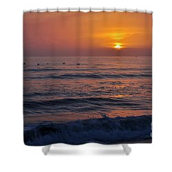 October Set Shower Curtain