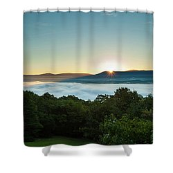 October Sunrise 2016 Shower Curtain