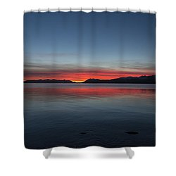 October Sunset II Shower Curtain