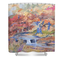 October Walk Shower Curtain