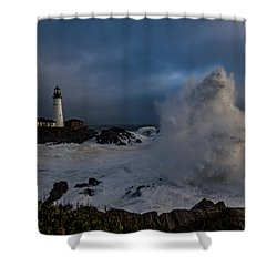 Octobercane Shower Curtain
