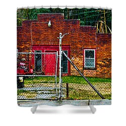Odd Little Place Shower Curtain by Christopher Holmes