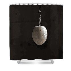 Odd Shaped Bobber Shower Curtain