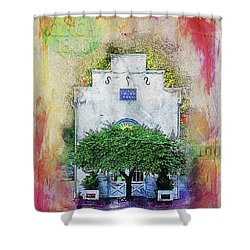 Oddfellows Library Building Shower Curtain