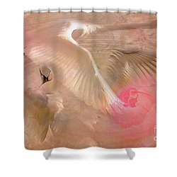 Ode To A Swan 2015 Shower Curtain