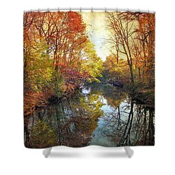 Shower Curtain featuring the photograph Ode To Autumn by Jessica Jenney