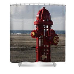 Shower Curtain featuring the photograph Ode To Man's Best Friend by Vadim Levin