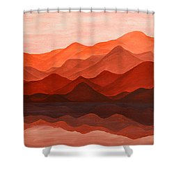 Ode To Silence Shower Curtain by Iryna Goodall