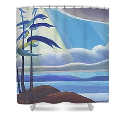 Ode To The North II Shower Curtain