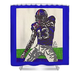 Odell Beckham Jr  Shower Curtain by Jeremiah Colley