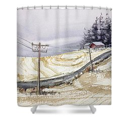 Odell Road Shower Curtain