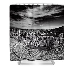 Odeon Of Herodes Atticus Shower Curtain