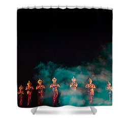 Odissi Princesses Shower Curtain
