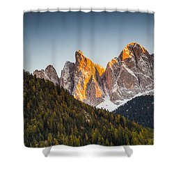 Odle Peaks Shower Curtain