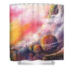 Odyessy Shower Curtain by Melody Horton Karandjeff