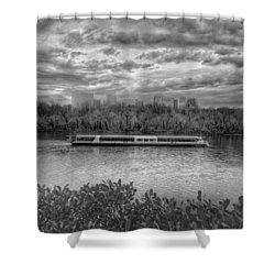 Odyssey On The Potomac Shower Curtain