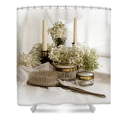 Shower Curtain featuring the photograph Of Days Past by Ann Lauwers
