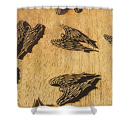 Shower Curtain featuring the photograph Of Devils And Angels by Jorgo Photography - Wall Art Gallery
