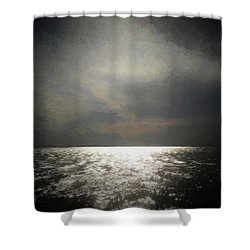 Of Places Far Away Shower Curtain by Ernie Echols