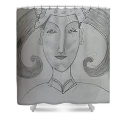 Of The Ming Dynasty Shower Curtain by Sharyn Winters