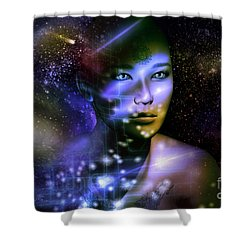 Of The Stars Shower Curtain