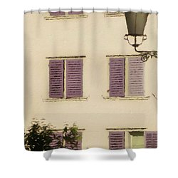 Shower Curtain featuring the photograph Of Times Past  by Connie Handscomb