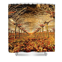 Off Of The Vine Shower Curtain