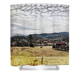 Off The Beaten Path II Shower Curtain