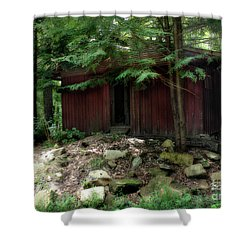Off The Grid Shower Curtain