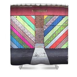 Shower Curtain featuring the photograph Off The Wall - Double by Colleen Kammerer