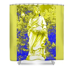 Shower Curtain featuring the photograph Offering Of Atonement by Jesse Ciazza