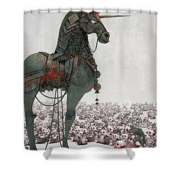 Offering Shower Curtain