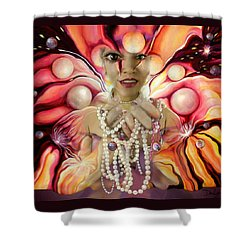 Offerings ... Of A Soul Explosion Shower Curtain