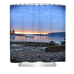 Office Of The Sea Shower Curtain