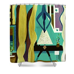 Office Party Shower Curtain