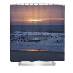 Office View Shower Curtain