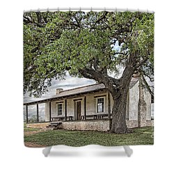 Officer's Quarters Shower Curtain