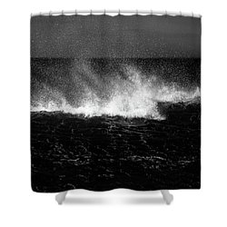 Offshore Shower Curtain by Dave Bowman