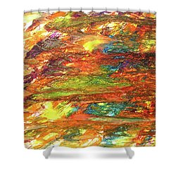 5-offspring While I Was On The Path To Perfection 5 Shower Curtain