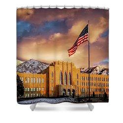 Ogden High School At Sunset Shower Curtain