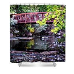 Ogden River Bridge Shower Curtain