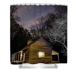 Ogle Cabin Shower Curtain