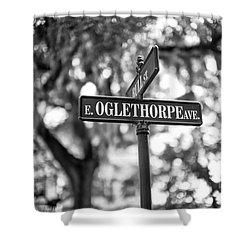 Oglethorpe Avenue Shower Curtain