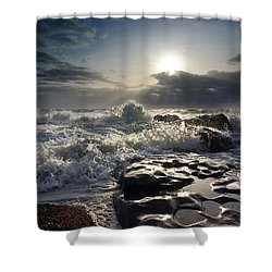 Ogmore By Sea Shower Curtain