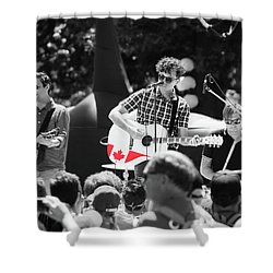 Shower Curtain featuring the photograph Oh Canada, Eh? by Rasma Bertz