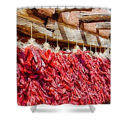 Oh Chiles Shower Curtain