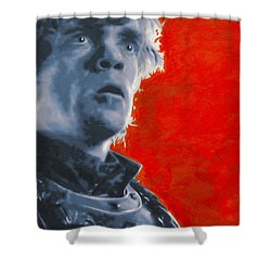 Shower Curtain featuring the painting Tyrion Lannister by Luis Ludzska
