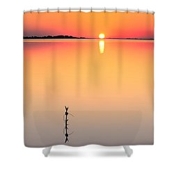 Oh, How She Makes Me Blush Shower Curtain