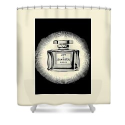 Shower Curtain featuring the digital art Oh Joy by ReInVintaged