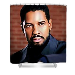 Oh, Lawd Denzel Shower Curtain